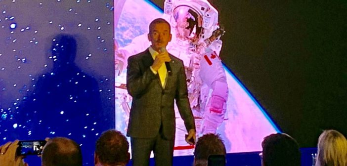 Interview with renowned Canadian Astronaut, Colonel Chris Hadfield – Cybersecurity in Space and future of space exploration